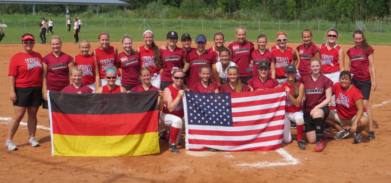 US Softball Travelteams bei den Dragons in Deggendorf