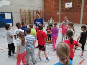Baseball an der Theodor Eckert Grundschule